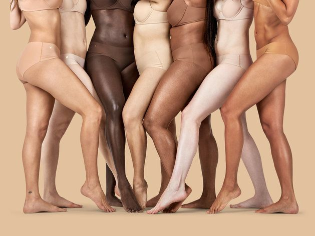 NUDE FOR ALL. Lingerie Has A Diversity Problem. This Brand Is Changing It.