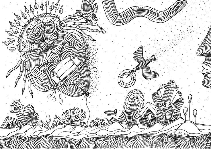 """""""before after"""", #Zeichnung #Pigmenttusche (Staedtler Pigment Fineliner) auf #Hahnemühle #Papier """"Nostalgie"""", 190 g/m2 21 x 29,7 cm, © #matthias #hennig 2017    """"before after"""", #india #ink #drawing (Staedtler Pigment Fineliner) on Hahnemühle #paper """"Nostalgie"""",190 g/sqm 21 x 29,7cm, © #matthias #hennig 2017 #myStaedtler #hennigdesign #artwork #moremoneyforartists #whatsnext"""