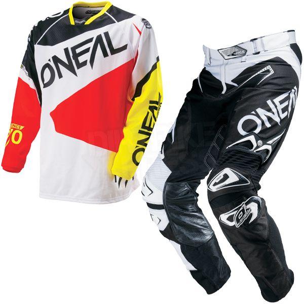2016 ONeal Hardwear Flow Kit Combo - Black Red