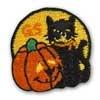 Girl Scout Shop - Cat And Pumpkin Pin