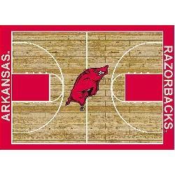 Arkansas Razorbacks College Basketball 3x5 Rug from Miliken: Arkansas Hog, Razorbacks Go Hog