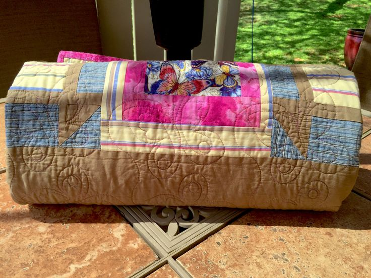 Throw-Back Thursday I made this quilt in 2011 while living in Willow, Alaska. I had given myself a challenge to make a quilt entirely from fabrics I had on hand, and I managed to do that with every…