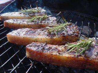 Lamb chops ready to eat