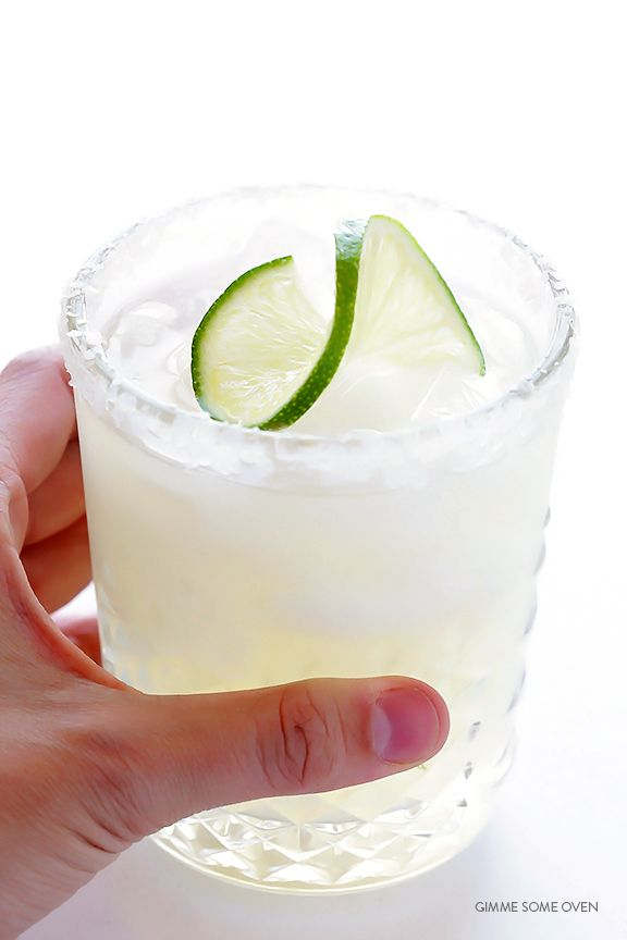 This classic margarita recipe is made with easy with 3 ingredients, and it's perfectly fresh and tasty!
