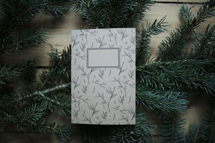 The product Notebook - pine twigs A6 is sold by lovelyenvelopes in our Tictail store.  Tictail lets you create a beautiful online store for free - tictail.com