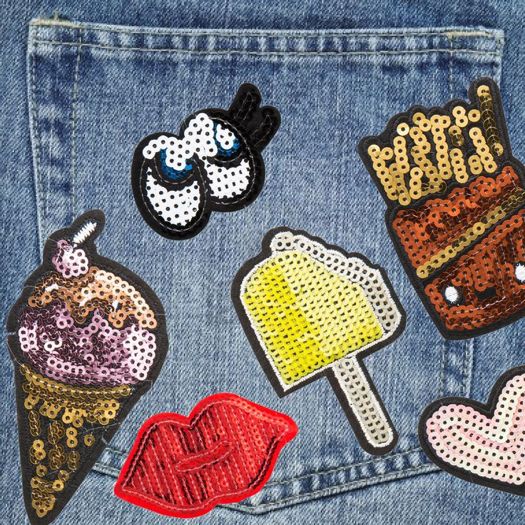 LET IT SHINE  #trendalert #parches #patches #patchesfan #loveit #MakeItYours #Todomoda