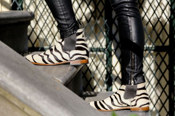 O'Quirey Lady Safari  #zebra #boots #leather #handmade #dutch #design