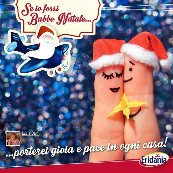 Buon Natale con i pensieri più belli dei nostri fan su Facebook. #christmas #natale #eridania #Italia #wish