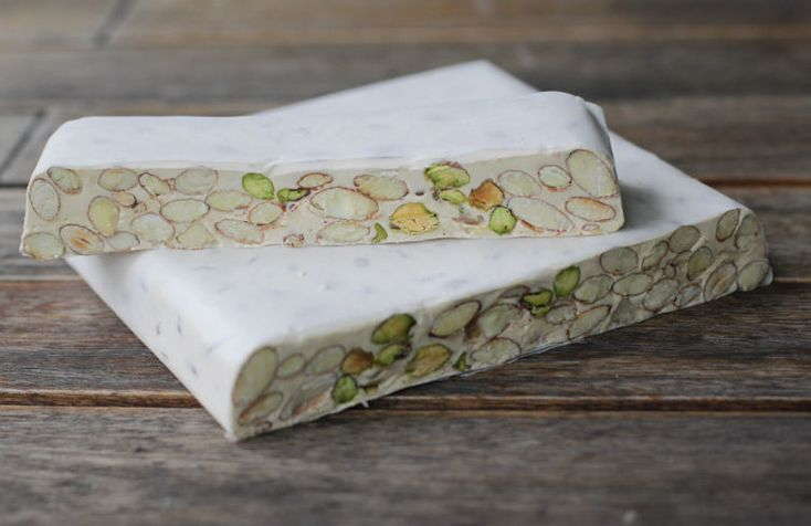 Torrone: Three-ingredient Sardinian nougat with pistachios - no candy thermometer or fancy equipment required