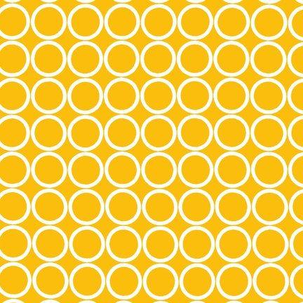 Robert Kaufman Fabric Metro Living Marigold by trendysisters, $8.00