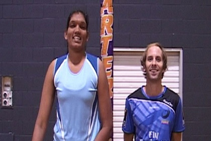 The Waterboy v The World's Tallest Netballer  Western Force  Rugby