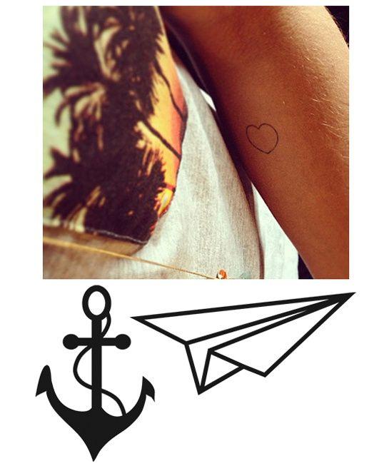 Selection De Tattoos Ephemeres Tendance Tattoos Pinterest Tatoo