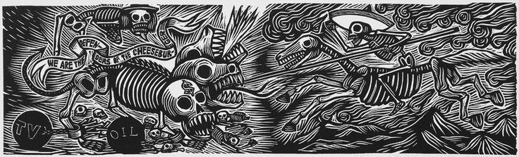 Artemio Rodriguez : The Defenders at Davidson Galleries
