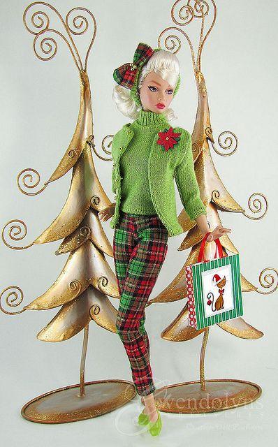 CHRISTMAS GREEN by Gwendolyns Treasures, via Flickr