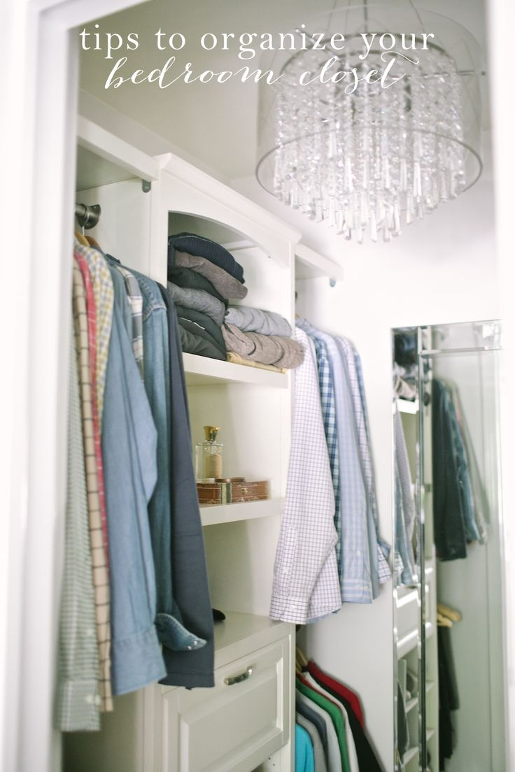 Easy Ideas To Organize Your Bedroom Closet