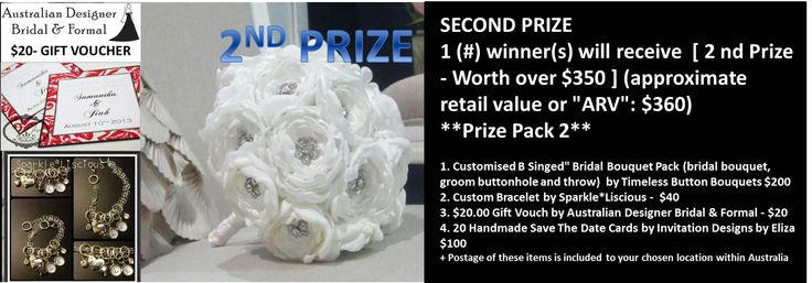 Win this pack worth over $350 See https://www.facebook.com/nicsbuttonbuds/app_228910107186452 for more details Ends July 7th 2013