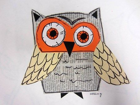 Artsonia School » Cedar Creek Elementary » Owl