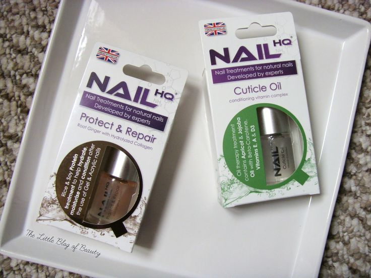 The Little Blog of Beauty: Nail HQ Cuticle oil and Protect and Repair