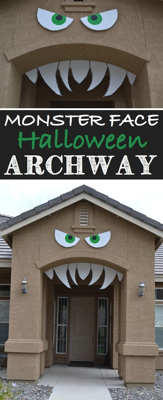 16 easy but awesome homemade halloween decorations with photo tutorials - Halloween Decorations House