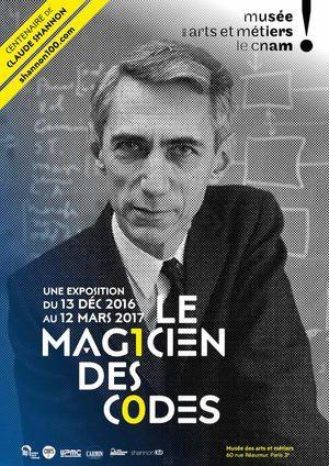 À l'occasion du centenaire de la naissance de Claude Shannon, découvrez l'exposition-dossierLe Magicien des codes quimet à l'honneur la vie et l'œuvre de Claude Shannon, mathématicien-ingénieur américain, pionnier de l'informatique.