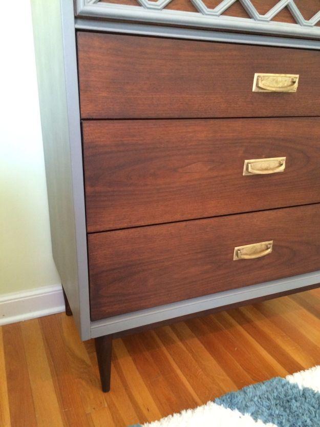 Best Mid Century Modern Dresser Gets A Makeover With Diy Chalk 400 x 300