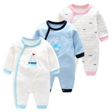 2017 primavera verano ropa de bebé de dibujos animados de los bebés de los mamelucos 100% algodón desgaste infantil de la ropa del recién nacido bebés mono producto(China)