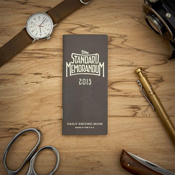 2017 Standard Memorandum - memorandum