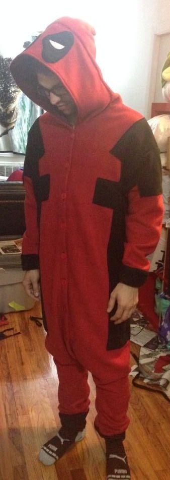 Deadpool Kigurumi