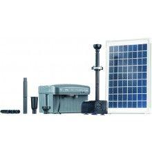 Heissner Solar-Teichpumpen-Set 750 l/h mit LED