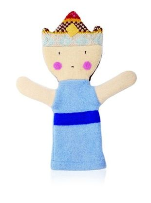 28% OFF Cate and Levi Unisex Princess People Puppet , Blue/Dark Blue
