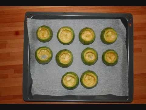 Zucchine Tonde Ripiene Bimby - YouTube
