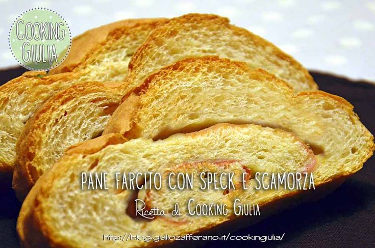 Pane con speck e scamorza
