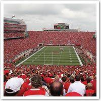 Nebraska football game at Memorial Field in Lincoln! GO BIG RED!!!!