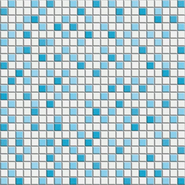 Blue And White Mixed Mosaic Flooring Tile Texture Image 5894 On