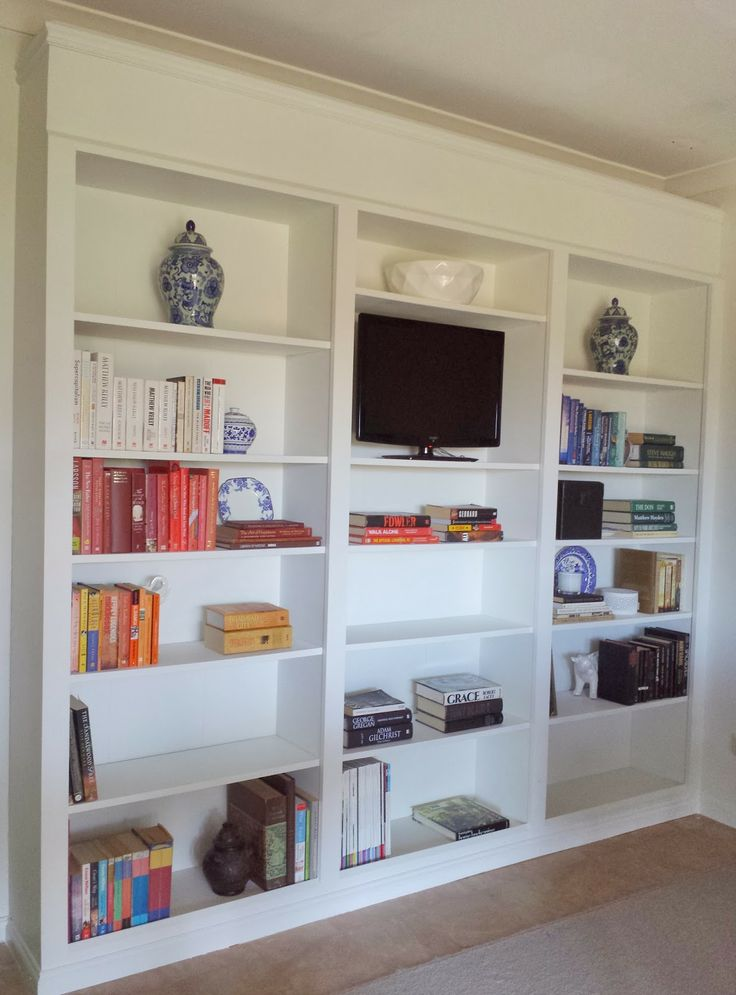 Billy Bookcase Transformation Building A Built In
