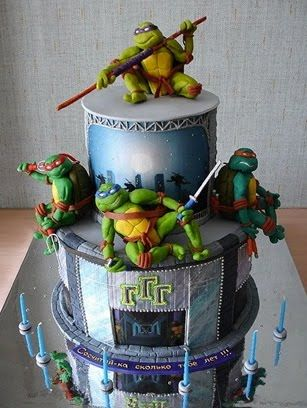 TMNT oh my I know a couple of guys who would love this!