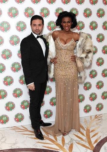 MoAnA and David Luu at Didier Drogba Foundation Charity Ball