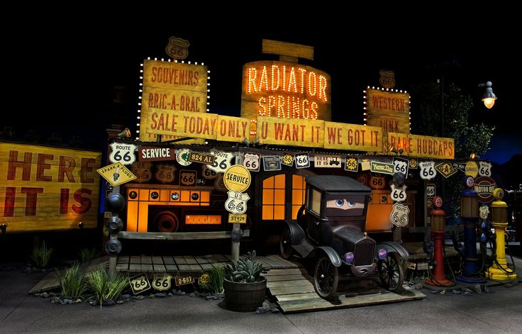 radiator springs racers | Radiator Springs Racers – On Ride Video and Photos | The Disney Blog