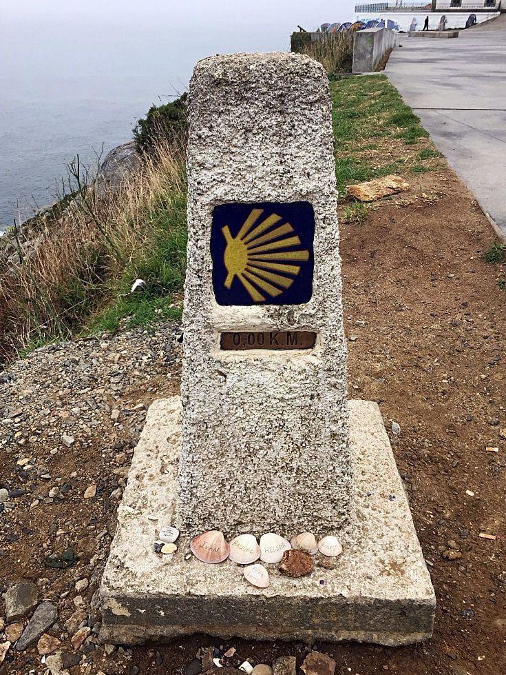 Mein Jakobsweg Finisterra Ankunft Am Ende Der Welt Ende Der Welt Jakobsweg Jakobsweg Spanien