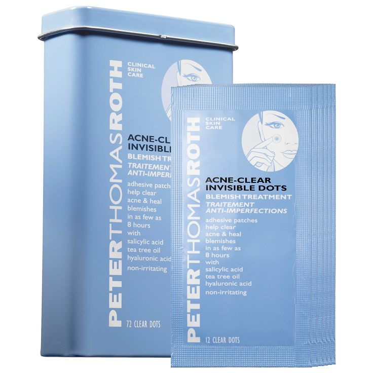 What it is:A package of innovative, adhesive, clear acne patches that help to eliminate blemishes and minimize the spread of bacteria. What it is formulated to do:Each fully concentrated adhesive patch—designed specifically for the affected are