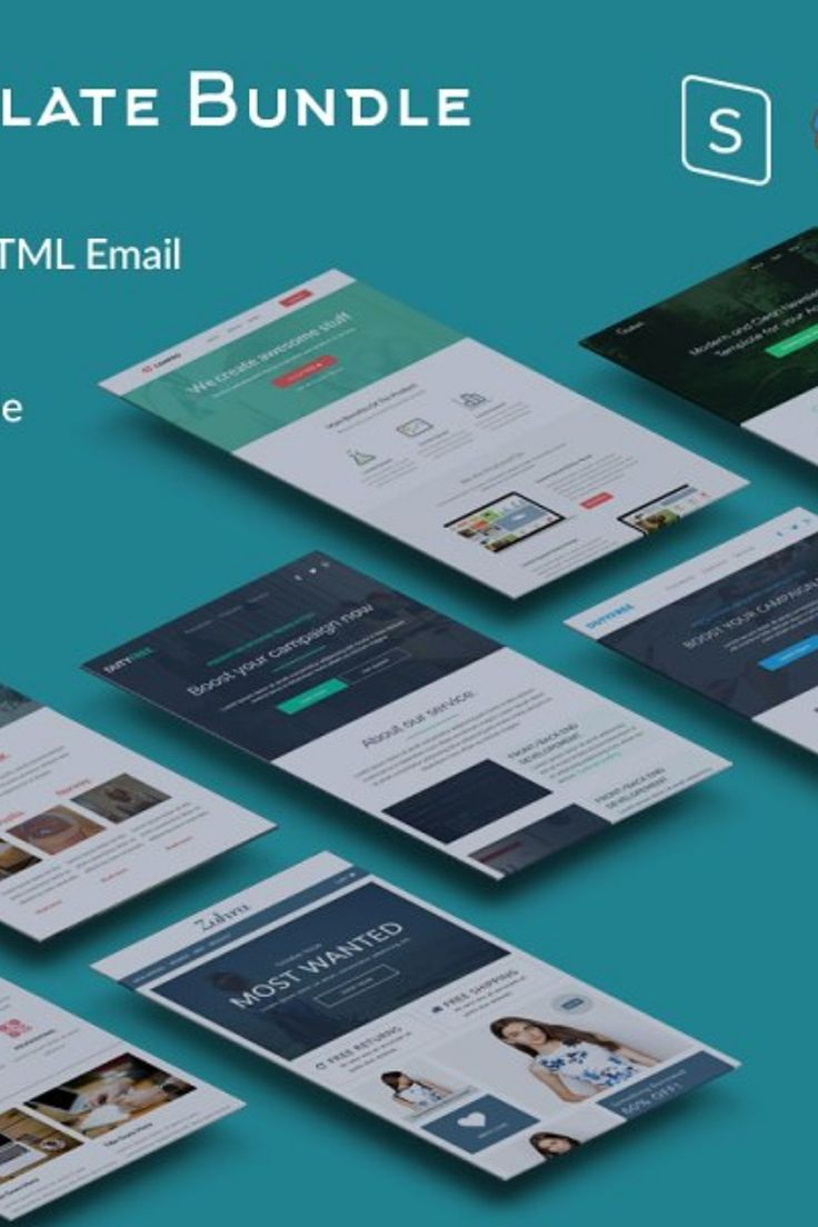 Save 60% Email Template Bundle