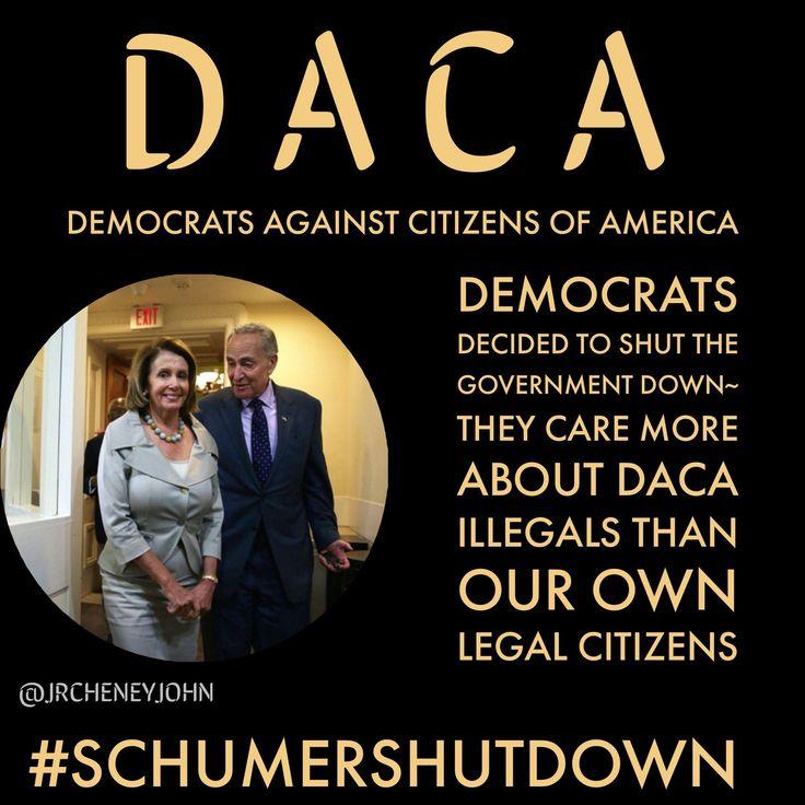 #AmericaFirst #SchumerShutDown
