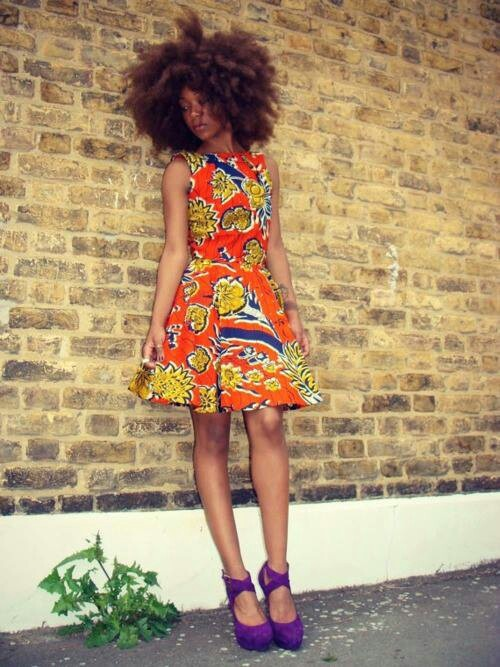 I wold like this dress please ... (via African Fashion)