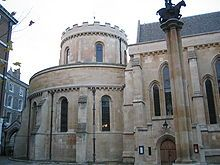 Temple Church, London -  The St Clair family of Herdmanston, the original line of our family in Scotland, received lands from Geoffrey de Mandeville who supported the Templars. He was made a Knight Templar on his deathbed and eventually buried on the grounds of Temple Church, London.