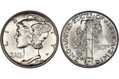 How Much Are My Coins Worth? - Coin Values & Prices: U.S. Dime Values