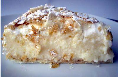 zioda': Torta sfogliata tanta crema..tanta panna