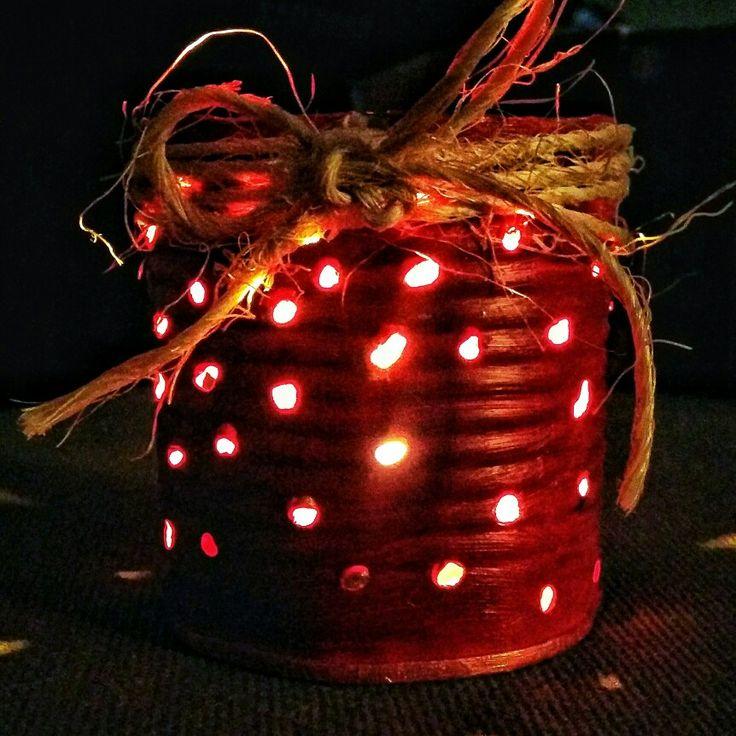 DIY Tealight Candle Holder