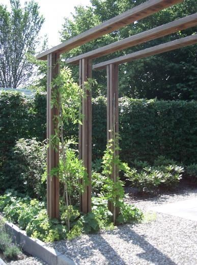 How To Make A Simple Wooden Pergola