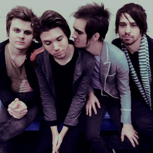 Panic! at the disco, Brendon Urie, Spencer Smith, Ryan Ross and Jon Walker
