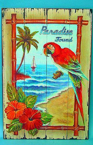 Fun Tropical Tiki Bar Signs | TIKI KEV's Pirate Stuff Store